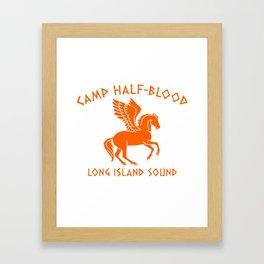 Camp Half Pegasus Framed Art Print