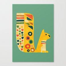 Century Squirrel Canvas Print