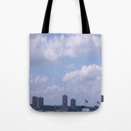 New York Cityscape Tote Bag