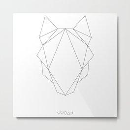 linewolf Metal Print