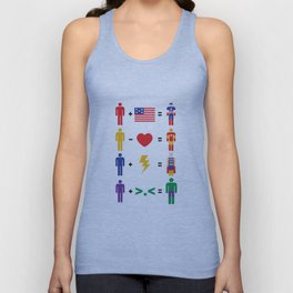 Assemble Math Unisex Tank Top