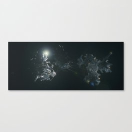 Connected Structures Canvas Print