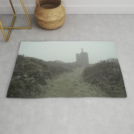 Higher Ball mine in the mist Rug