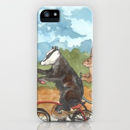 Bike Race iPhone Case