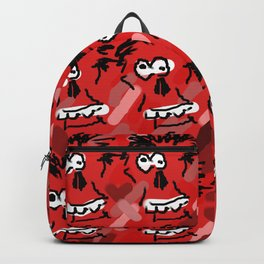 Woolie skullie Backpack
