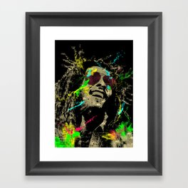 Under the reggae mode Framed Art Print