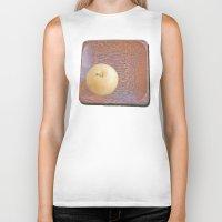 asian Biker Tanks featuring Asian Pear by Lyssia Merrifield