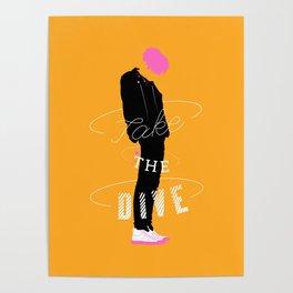 Jonghyun - Take the dive Poster
