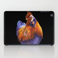 rooster iPad Cases featuring Rooster by Tim Jeffs Art