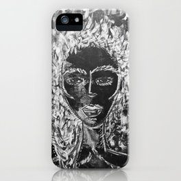I am she. iPhone Case