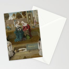 Master of the Spes Nostra - Memorial tablet Stationery Cards