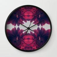 mirror Wall Clocks featuring Mirror by Paula Sprenger