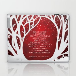What Could I Become - Cruel Prince Quote Laptop & iPad Skin