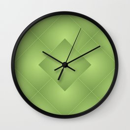 Green Daimonds Wall Clock