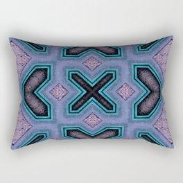 Victorian Art Deco Medieval Pattern colorful SB32 Rectangular Pillow