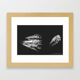 Reach. Framed Art Print