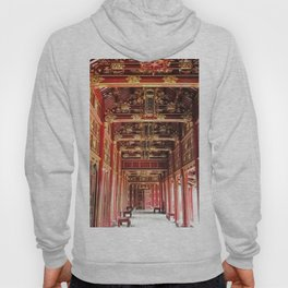 Red Asian Palace Hoody