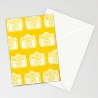 I Still Shoot Film Holga Logo - Reversed Yellow Stationery Cards