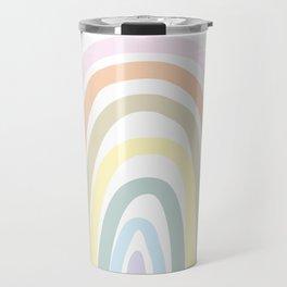 my own pastel rainbow Travel Mug