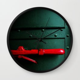 Fragments of Time: Iron Horse Series No. 021 Wall Clock