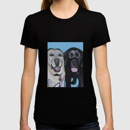Indie & Daisy the labs T-shirt