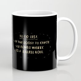 fox to-do-list Coffee Mug