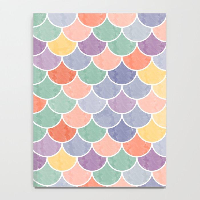Watercolor Lovely Pattern VVXVIV Notebook