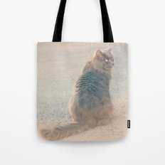 Smile Like A Cat Tote Bag