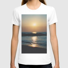 Sunset Ocean Bliss #6 #nature #art #society6 T-shirt