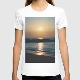 Sunset Ocean Bliss #6 #nature #art #society6 T-shirt