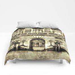 Buckingham Palace London Vintage Comforters