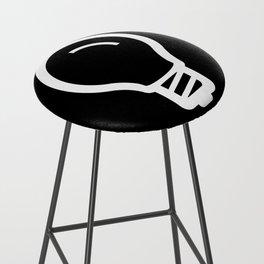 The Thinker's Right - Basic Logo Bar Stool