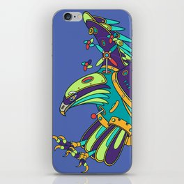 Eagle, cool wall art for kids and adults alike iPhone Skin