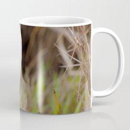 Watercolor Bird, Little Blue Heron 03, Merchants Millpond, North Carolina, Swamp Fisher Coffee Mug