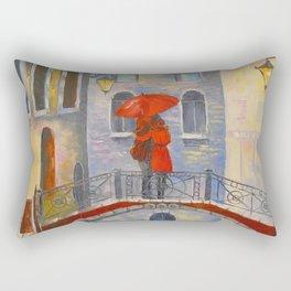 Love Venice Rectangular Pillow