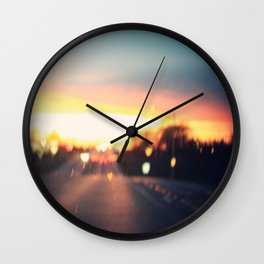 the road to love Wall Clock
