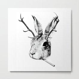 Sargeant Slaughtered Metal Print