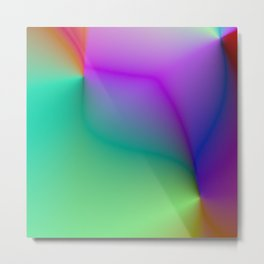 Colorful Pearl Pattern Metal Print