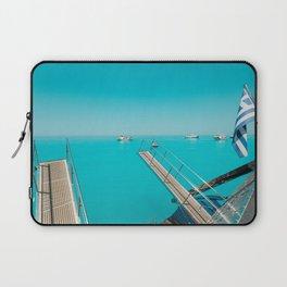 Back of boat Laptop Sleeve