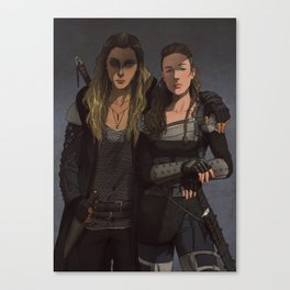 Her Second Canvas Print