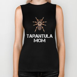 Tarantula Mom Biker Tank