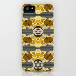 Unibrow Boxer Tessellation iPhone Case