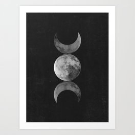 Moon Symbol Art Print