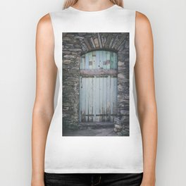 Old Blue Door II Biker Tank