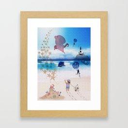 Out of Imagination Framed Art Print
