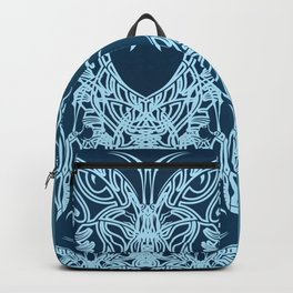 Indian Butterfly Enblem Backpack