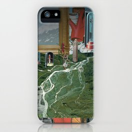 Magritte is waiting · 3 iPhone Case