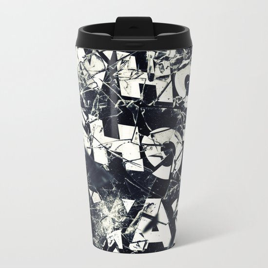 Who Shot Ya? Metal Travel Mug