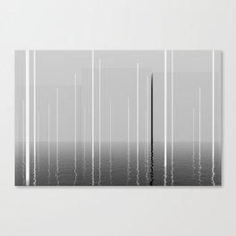 Narrow lights Canvas Print