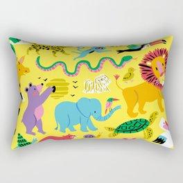 Animal Parade Rectangular Pillow